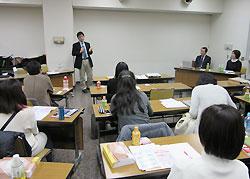赤澤晃先生、井上徳浩先生を囲んだ懇談会