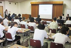 岡山県浅口市教育委員会と共催で行った研修会
