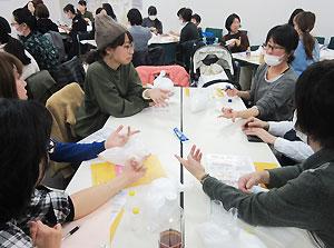 スキンケアの実習も行った市民企画講座