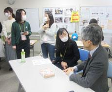 演に合間には講師の大矢先生に直接、質問する時間も