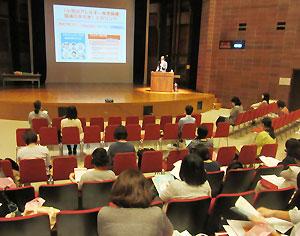 久しぶりに参加者が実際に集まって行った研修会(神奈川公会堂)