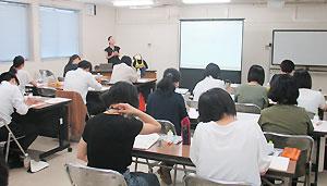 厚木児童相談所で行われた研修会