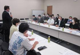 「基本的な指針」の見直しについて要望した会議(5日)