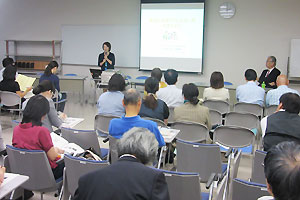 神奈川県立保健福祉大学で開かれた第8回ヒューマンサービス研究会