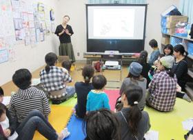 「地域子育て支援センターみやうち」で開かれた講座