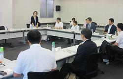 都内で開かれた第1回免疫アレルギー疾患研究戦略検討会